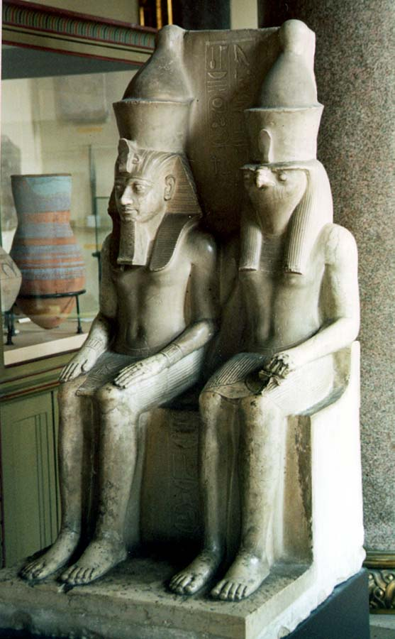 Pharaoh_and_Horus.jpg